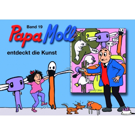 Papa Moll entdeckt die Kunst (19)