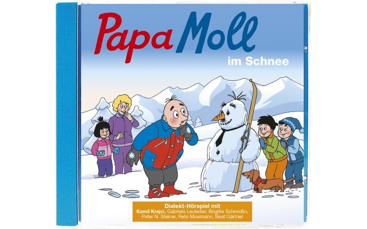Papa Moll im Schnee