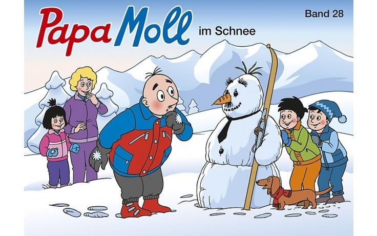 Papa Moll im Schnee (28)