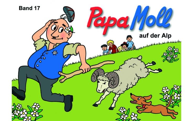 Papa Moll auf der Alp (17)